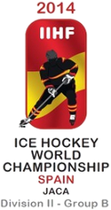 Majstrovstvá sveta v ľadovom hokeji 2014 – II.divízia,skupinaB