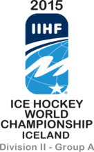 2015 Ice Hockey World Championship Division II Group A