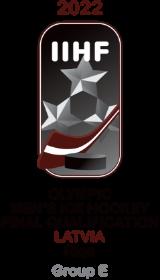 2022 Men's Olympic Ice Hockey FinalQualification GroupE