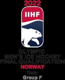 2022 Men's Olympic Ice Hockey FinalQualification GroupF